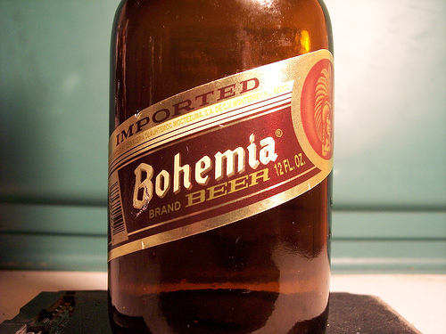Bohemia beer, photo by flickr user drewesque