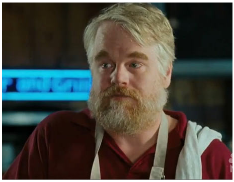 Philip Seymour Hoffman in The Invention of Lying