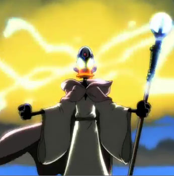 Daffy Duck, The Wizard