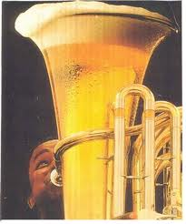 You got your music in my beer! You got your beer in my music!